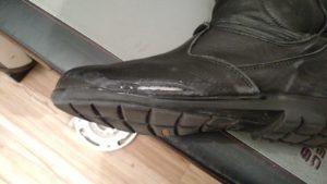 Dianese-fulcrum-boot-damage