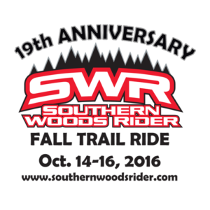 SWR OFF-ROAD TRAIL RIDES 2016