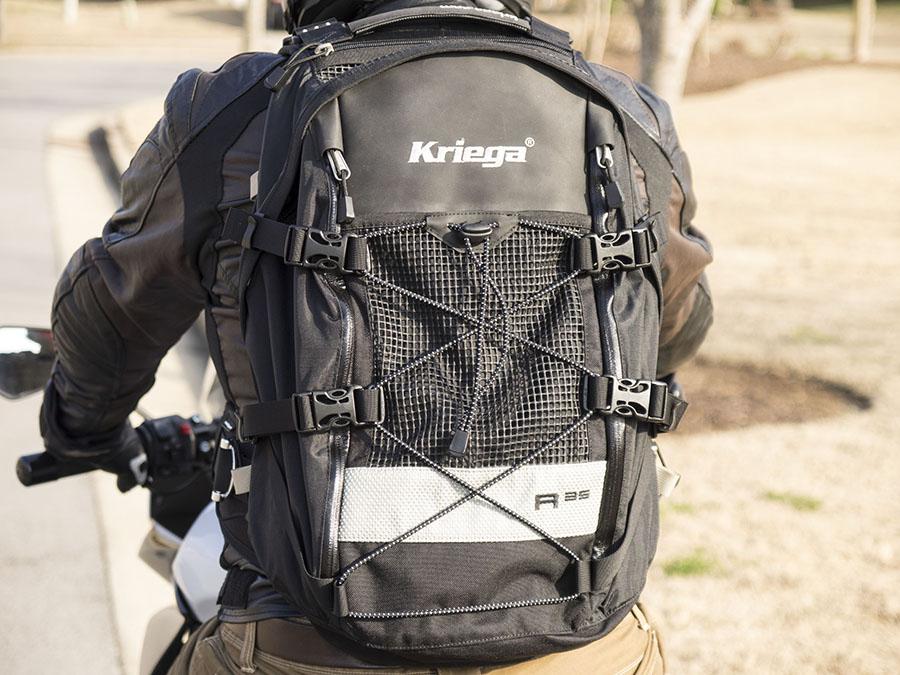 b2f5c602677 Kriega R25 and R35 Backpack Review – Motorcycle Words