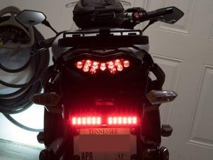 Skene P3 Brake light, much brighter than the factory light.